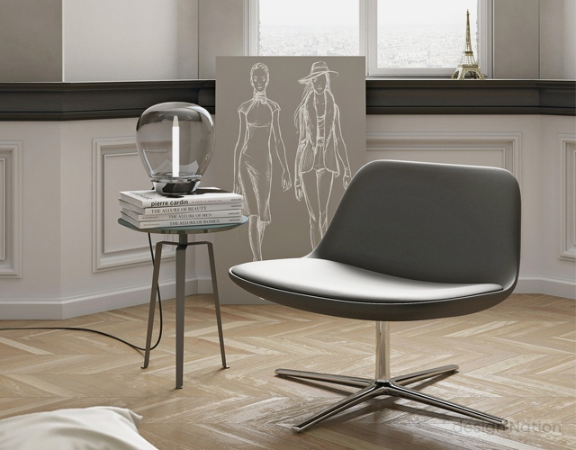Admirable Pure Loop Lounge By Infiniti Design And Designed By Claus Customarchery Wood Chair Design Ideas Customarcherynet
